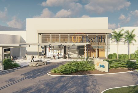 Preliminary rendering UF Health The Oaks front